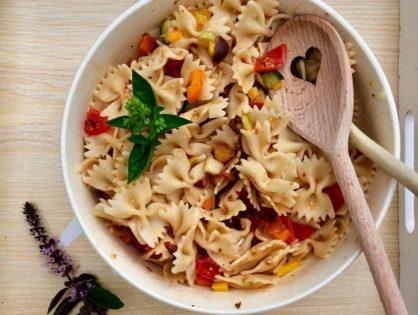 Sizilianischer Nudelsalat