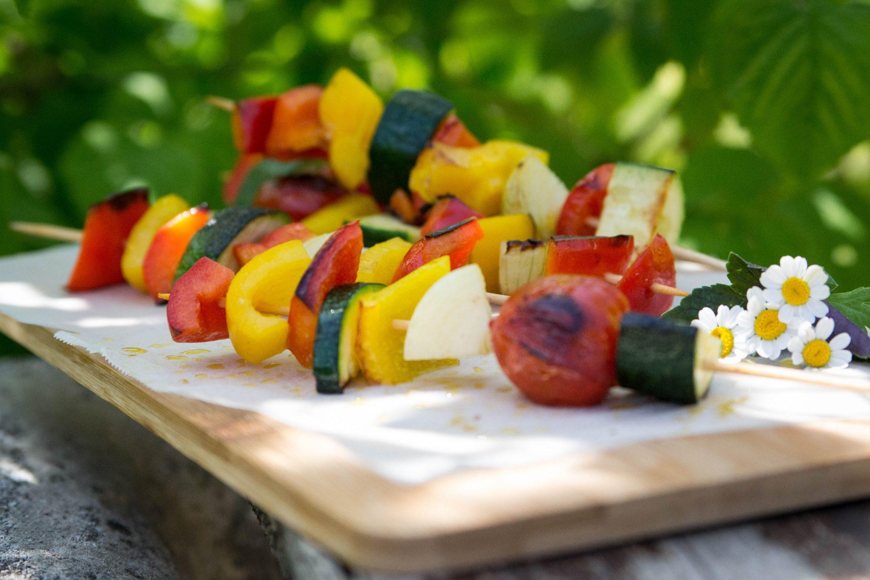 Gemüse-Grill-Spießchen