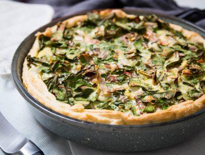 Blätterteig-Mangold-Tarte