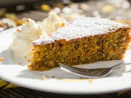 Karotten-Nuss-Kuchen (ohne Mehl)