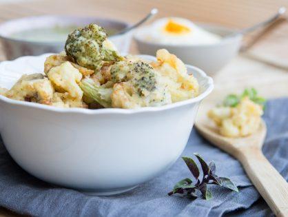 Romanesco, Karfiol oder Broccoli in Bierteig