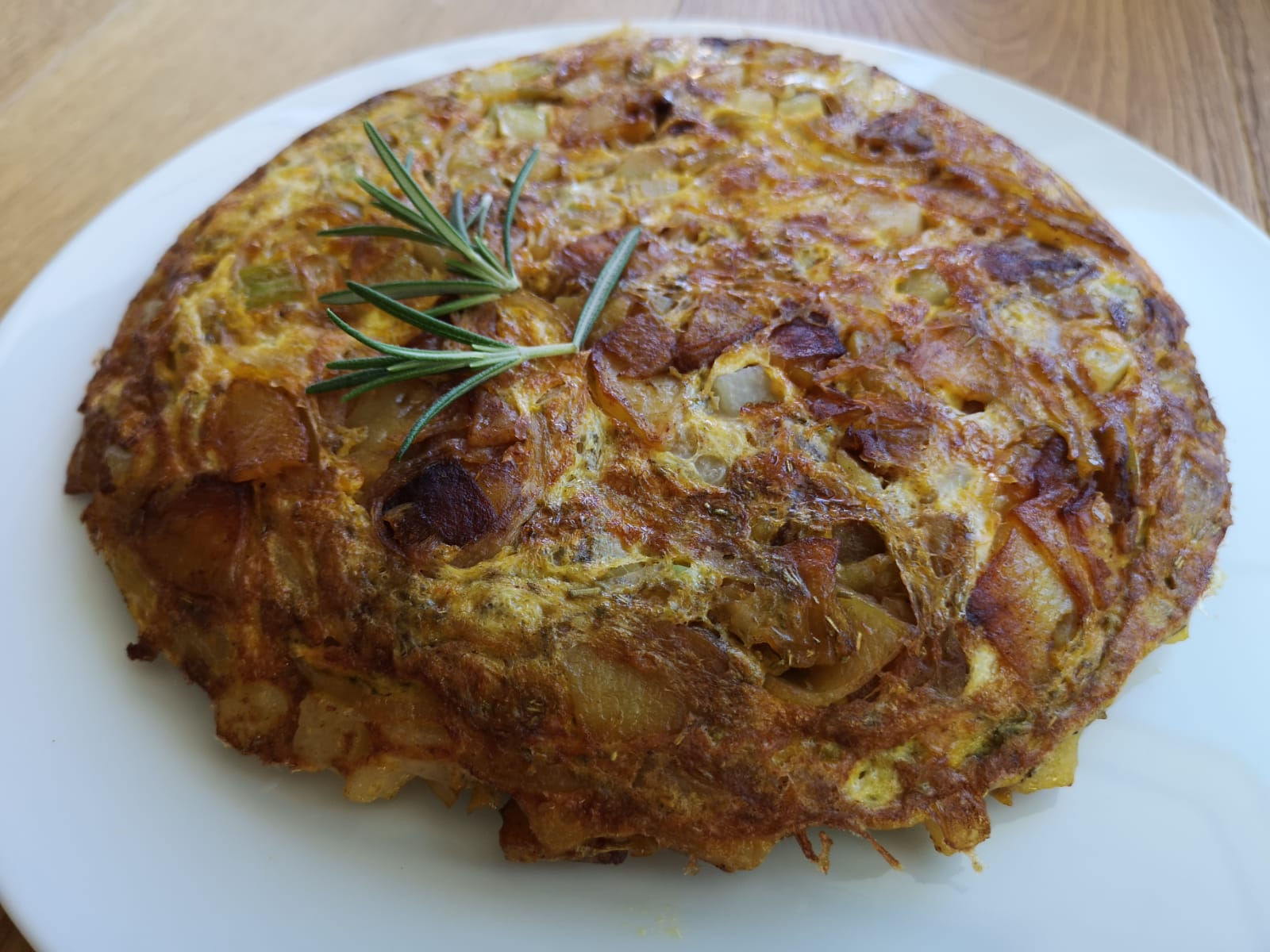 Tortilla mit Fenchel (Kartoffel-Omelette, spanisch)