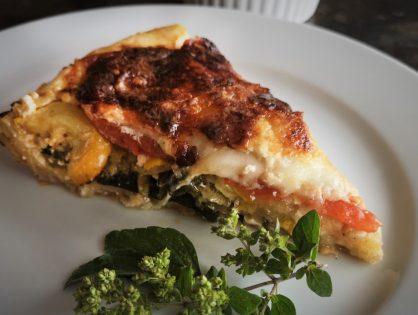 Melanzani-Zucchini-Tomaten-Tarte
