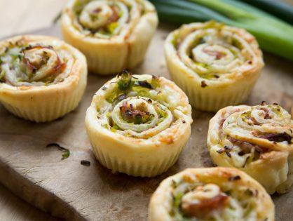 Pikante Lauch-Cupcakes