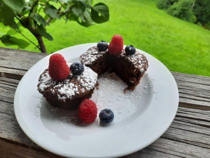 Zucchini-Schokolade-Muffins